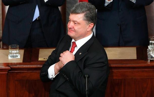 Порошенко поблагодарил Путина за независимость