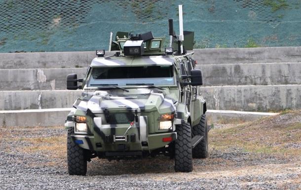 АвтоКрАЗ испытал первый беспилотный броневик