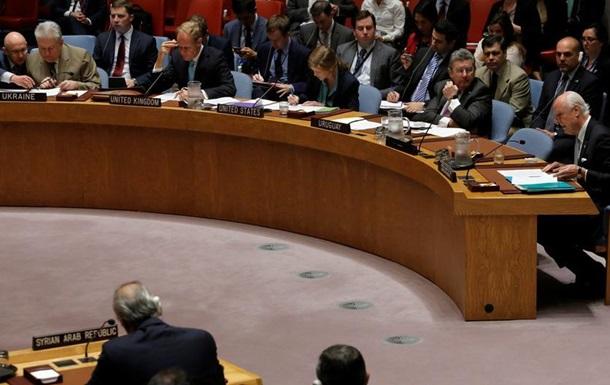 Рада безпеки ООН проведе екстрене засідання через Сирію