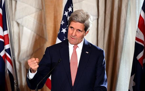 Керри обвинил Россию в военных преступлениях