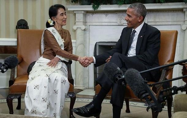 США отменили санкции против Мьянмы