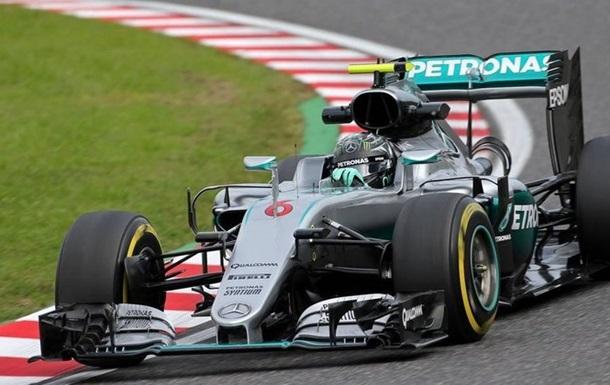 Формула-1. Гран-при Японии. Росберг — лучший в третьей тренировке