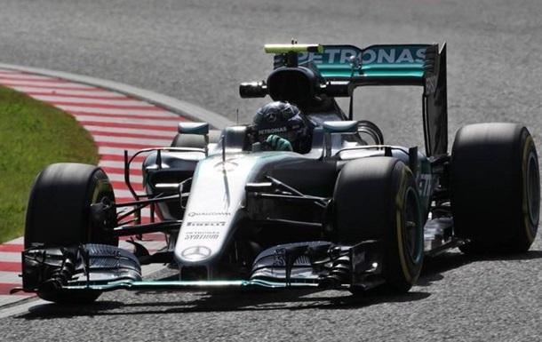 Формула-1. Гран-при Японии. Росберг — вновь на поуле трассы в Сузуке
