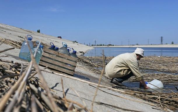 РФ обіцяє стабільну воду для кримчан до 2019 року