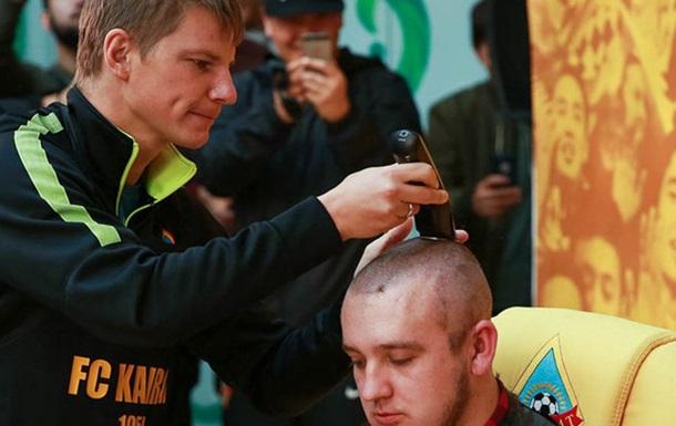 Аршавин побрил журналиста