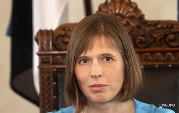 Президент Естонії спілкуватиметься з російськомовним населенням їхньою мовою