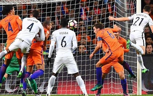 Відбір ЧС-2018. Група А. Франція мінімально обіграє Голландію