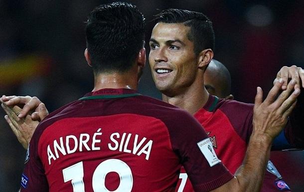 Хет-трик Сильвы и очередной гол Роналду. Обзор матча Фарреры - Португалия