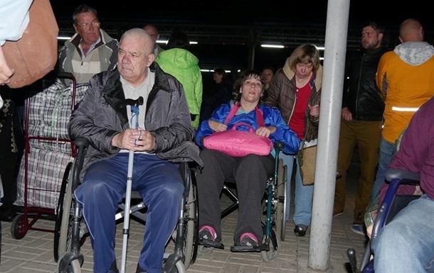 Переселенцы-инвалиды должны уехать из санатория в Одессе – ОГА
