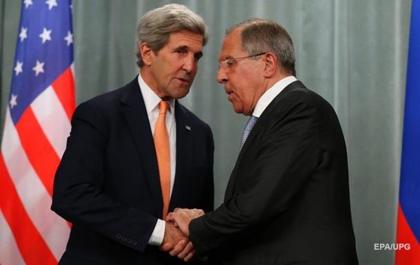 РФ и США организуют встречу Лаврова и Керри