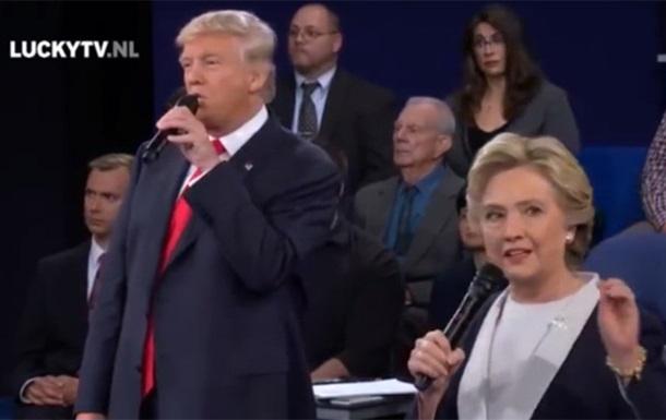 Трамп и Клинтон  спели  украинскую песню