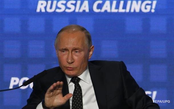 Путін назвав головну загрозу санкцій проти Росії