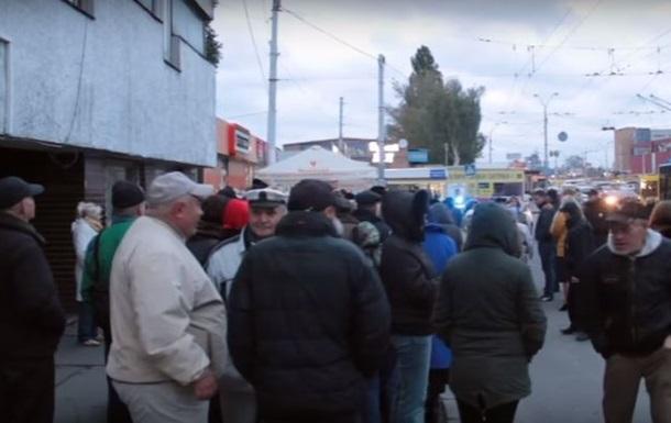 В Киеве провели акцию протеста сотрудники Киевпастранса - СМИ