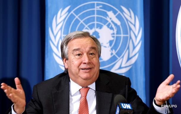 Антоніу Гутерріша затверджено новим генсеком ООН
