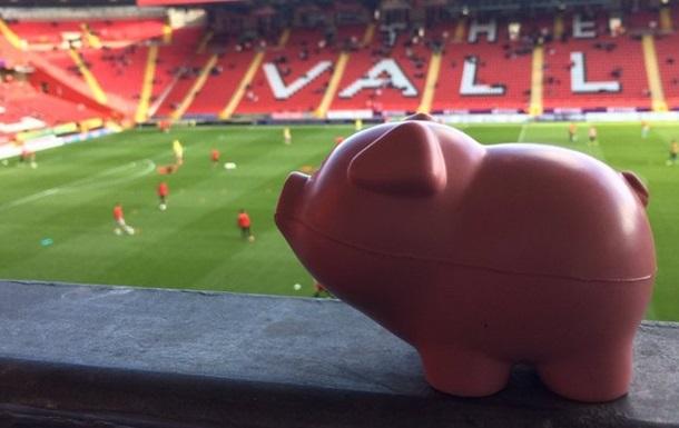 Свиньи остановили футбольный матч