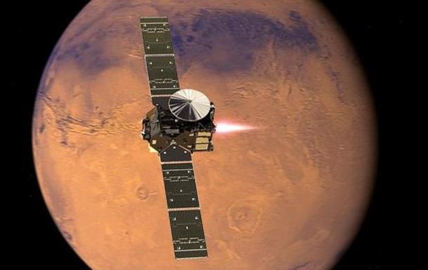 Модули проекта ExoMars начали посадку на Марс