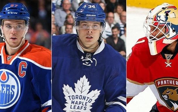 НХЛ. Визначені три зірки тижня