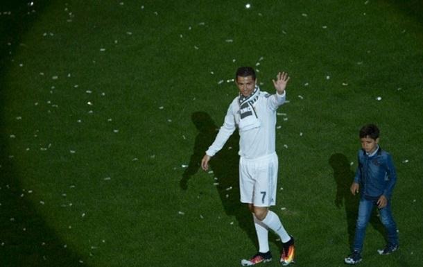 Сын Криштиану поступил в футбольную академию, но не Реала