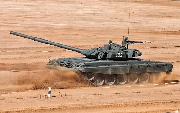 Сирійський танк двічі уникнув американської ракети