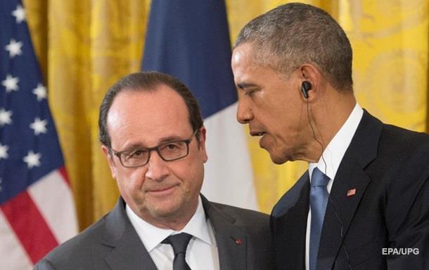 Олланд звинувачує Обаму в посиленні ІДІЛ