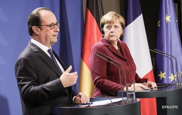 Олланд снова требует срочно начинать выборы в АТО
