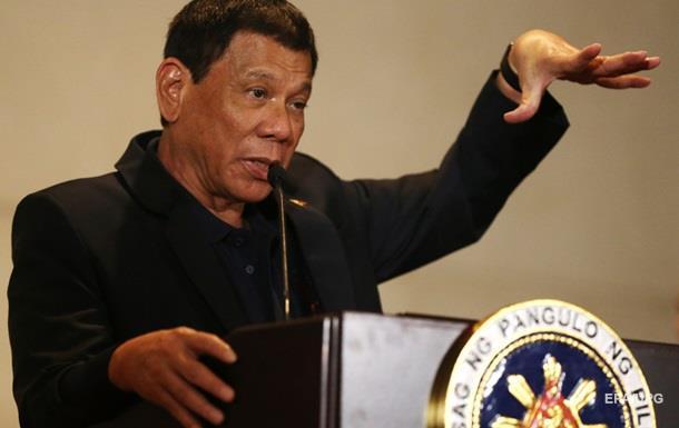 Президент Філіппін знову обізвав Обаму