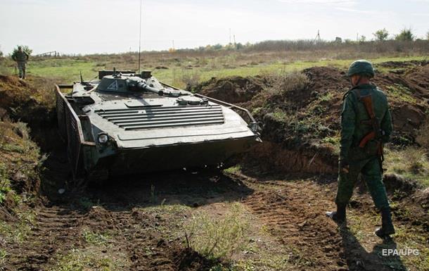 Киев заявил о 30 обстрелах в зоне АТО