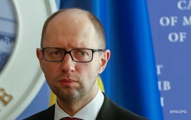 Народный фронт не собирается выходить из коалиции – Яценюк