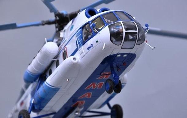 Крушение вертолета в России: 19 человек погибли