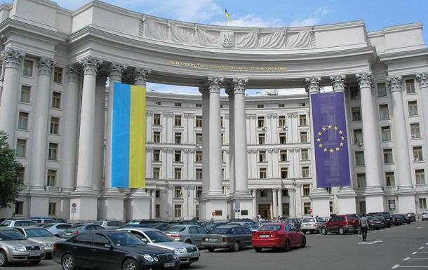 Киев вызвал представителя Сирии из-за Крыма