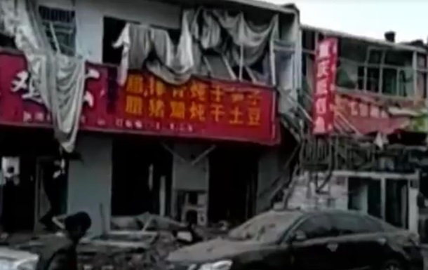 Вибух у Китаї: семеро загиблих, 94 постраждалих