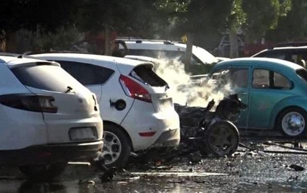 Взрыв в Анталье