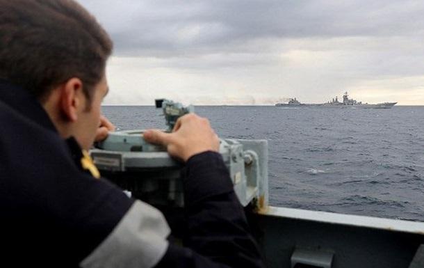 Росія відкликала запит на візит авіаносця в порт Іспанії
