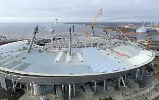 Новая арена Зенита ушла под воду