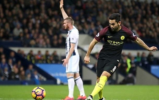 АПЛ. Манчестер Сити громит Вест Бром, МЮ снова теряет очки