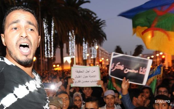 В Марокко начались волнения из-за гибели торговца