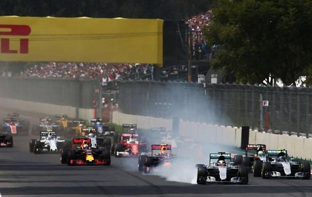 Формула 1. Підсумки Гран-прі Мексики