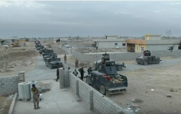 Армия Ирака заняла первое важное здание в Мосуле