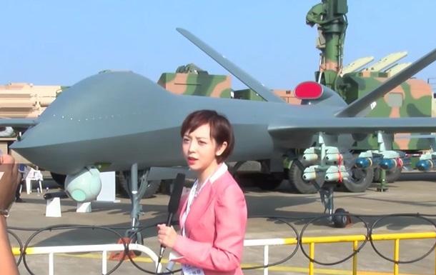 У Китаї показали найбільший бойовий дрон