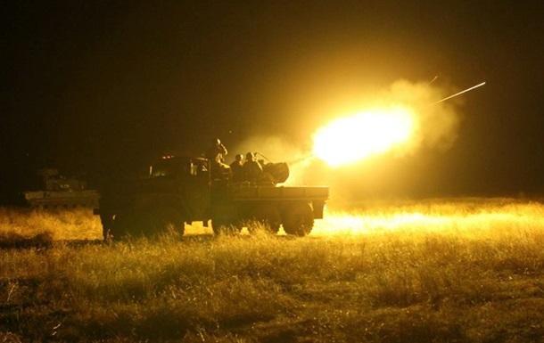 Кримське обстріляли з  Градів  - штаб АТО