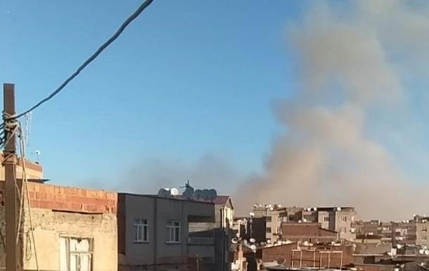 В турецком Диярбакыре произошел взрыв