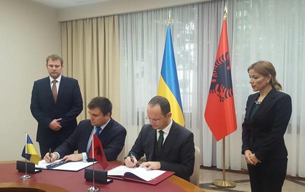 Україна встановила безвізовий режим з Албанією