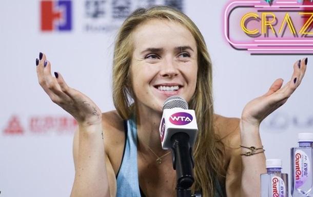 Свитолина сыграет с Контой в полуфинале WTA Elite Trophy