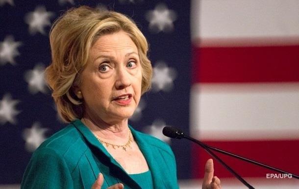 У США опубліковані листи у справі Клінтон