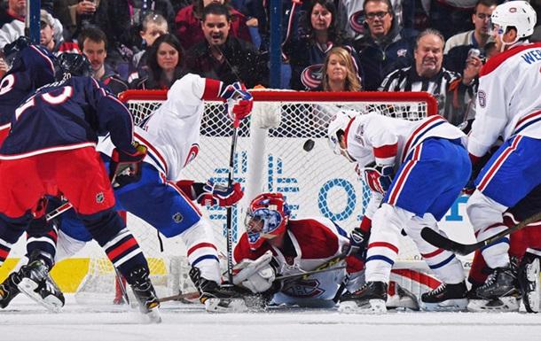 НХЛ. Коламбус отгрузил 10 сухих шайб Монреалю