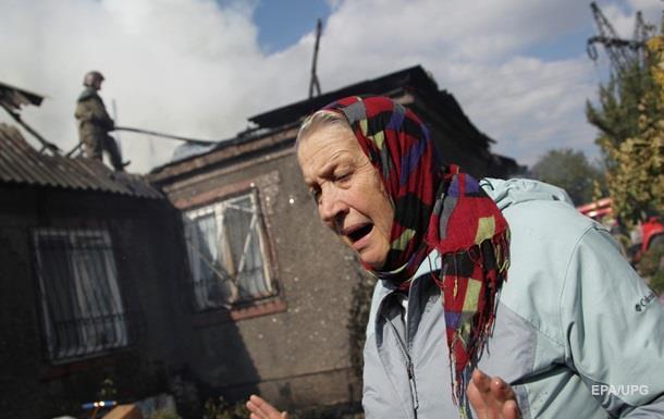 Обстріл Красногорівки: поранені мирні жителі