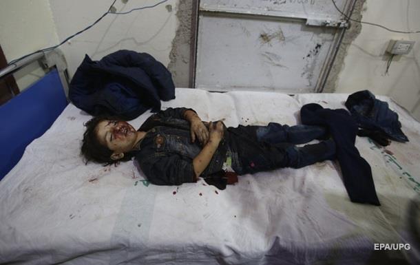 В Сирии разбомбили детсад: погибли дети