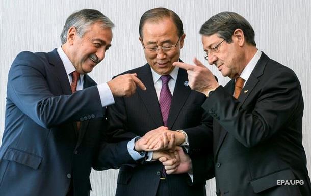 У Швейцарії почалися переговори з об єднання Кіпру