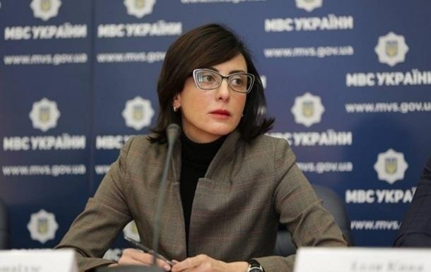 Деканоїдзе назвала мету для поліції у 2017 році