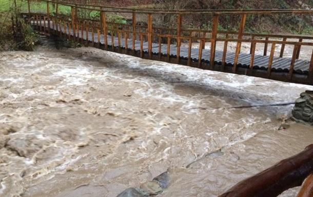 На Закарпатті зафіксували рекордний паводок